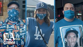 Dodger fans flock to Texas for the World Series