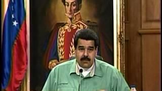 Maduro anuncia nuevo presidente de Cencoex