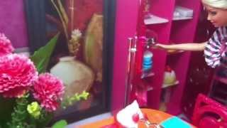 Barbie Doll House Tour with new Furnitures-Update ( Ameera Johara & Warda Nur )