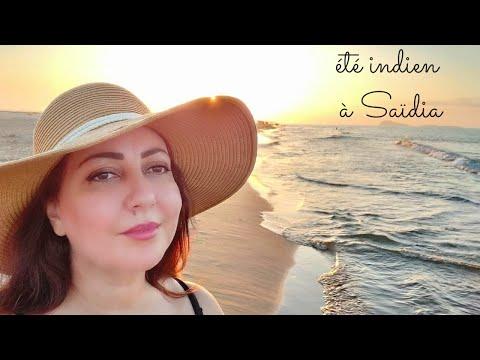 Été Indien à Saïdia #chaton #Plage #Résidence