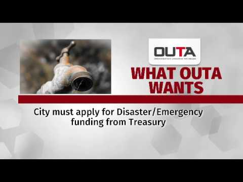 City of Cape Town drought levy 'illegal': Outa