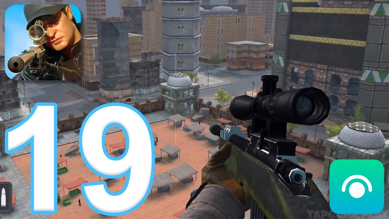 Sniper 3D Assassin: Shoot to Kill - Gameplay Walkthrough Part 19 - Region 7  (iOS, Android)