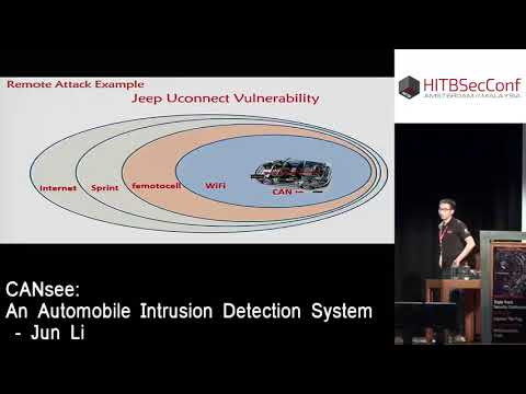 #HITB2016AMS D2T1 - CANsee  An Automobile Intrusion Detection System - Jun Li.mp4