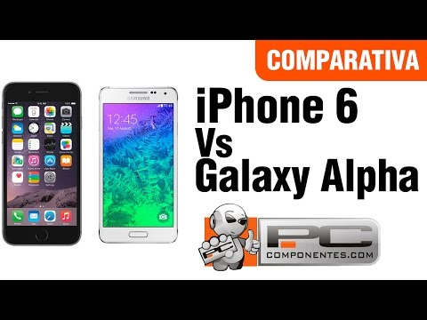 Samsung Galaxy Alpha vs iPhone 6