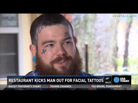 Man With Face Tattoo Of Moms Name Booted By Restaurant