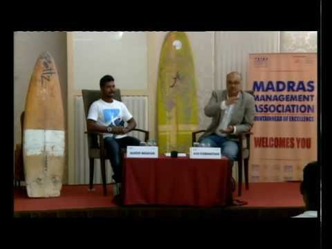 The Uncommon Leader - 4, July 12, 2016 - Murthy Megavan, Co-Founder, Covelong Point Surfing School
