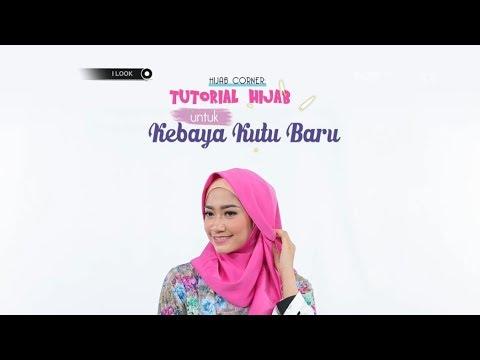 Ilook Tutorial Hijab Untuk Kebaya Kutu Baru