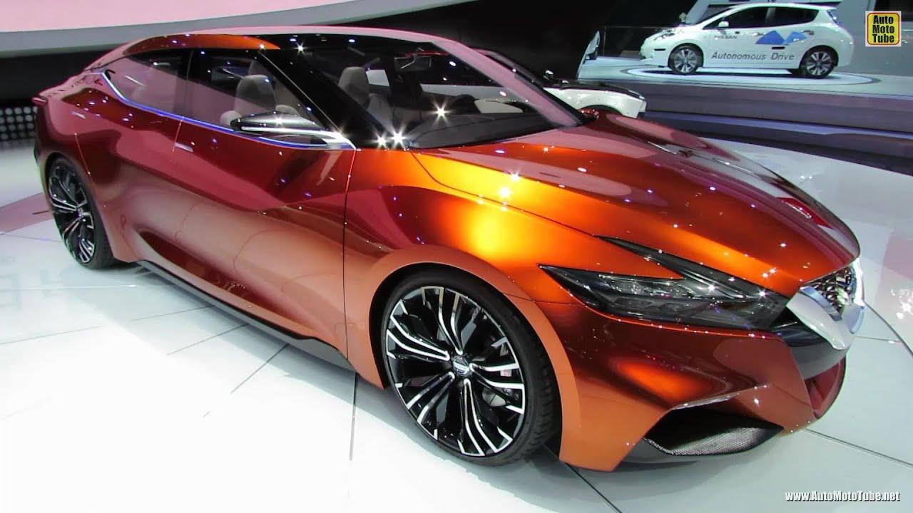 2015 Nissan Sport Sedan Concept - Exterior Walkaround - Debut at ...