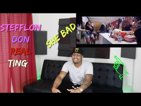 Stefflon Don - Real Ting Reaction