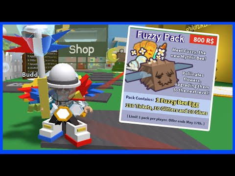 Buying The Fuzzy Bee And Getting The Easter Egg - Roblox Bee Swarm Simulator