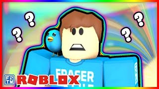Roblox Clueless Answer Wrong and you Fall to your Death!