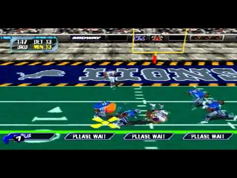 Blitz 2000 Season Mode Week 5- vs.  Minnesota Vikings