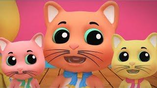 три маленькие котята | русский мультфильмы для детей | Three Little Kitten | Kids Tv Russia