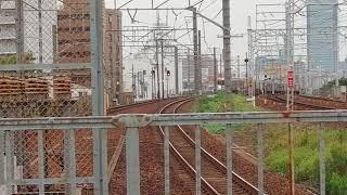 313系Y107編成新快速豊橋行尾頭橋1番線通過