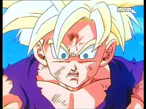 la transformation de sangohan en super super guerrier youtube