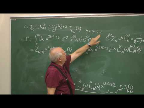 Hydrogen atom (6A) - Expectation values of various powers of r