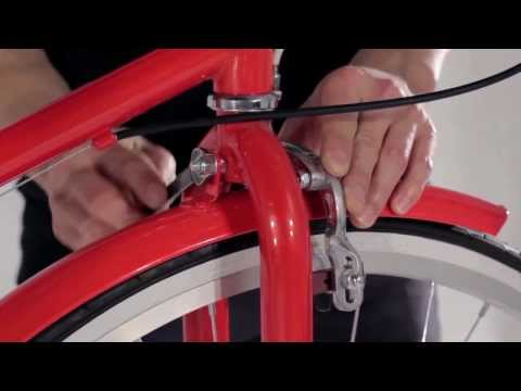 Reid Cycles - How To Assemble A Ladies Vintage Bike
