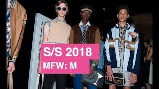 Fendi Spring / Summer 2018 Men's Runway Show   Global Fashion News