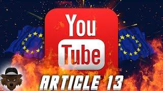 YOUTUBE en DANGER, AGISSONS ! (Article 13)
