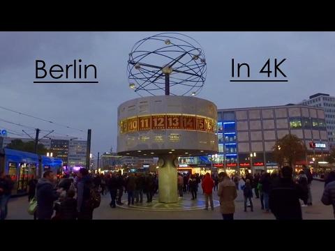 Berlin In 4K - Germany - Ultra HD (DJI Osmo) - October 2016