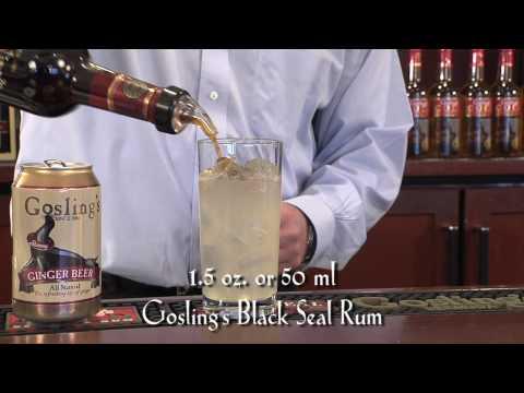Gosling's Rum Dark 'n Stormy® Meet Your Rum Maker 1