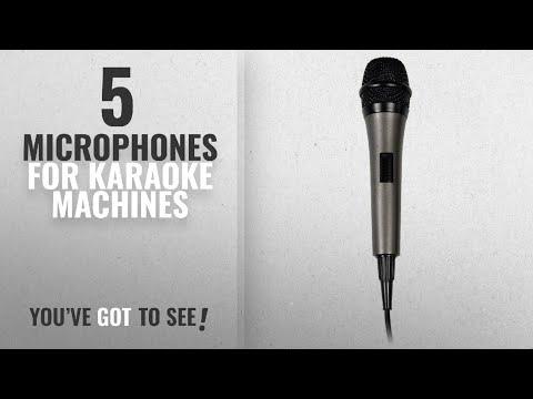 Top10 Microphones For Karaoke Machines [2018]: Singing Machine SMM-205 Unidirectional Dynamic