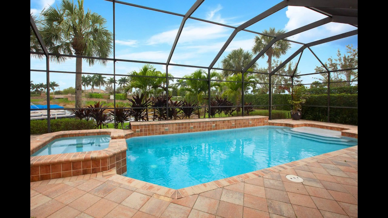 8805 Spinner Cove Ln The Quarry Naples Fl 3br Pool Home Boat