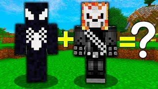 VENOM + GHOST RIDER = NOWY SUPERBOHATER! - Minecraft: Przygody z Flotharem #10