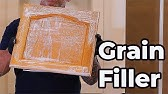The Best Wood Grain Filler I Have Come Across - YouTube