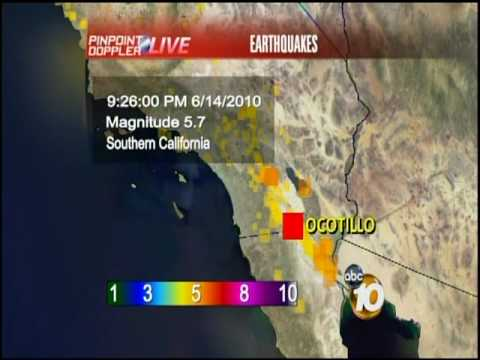 5.7 Earthquake Shakes San Diego County
