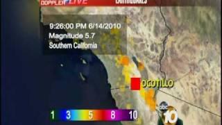 5.7 Earthquake Shakes San Diego County