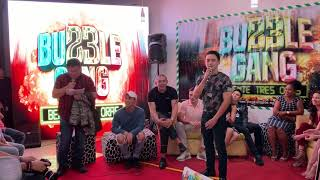 The funny cast members of BUBBLE GANG for 23rd anniversary