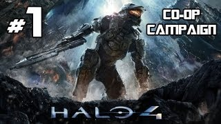 Halo 4 - Co-Op Campaign Playthrough w/ Live Commentary - Part 1 - Rise and Shine