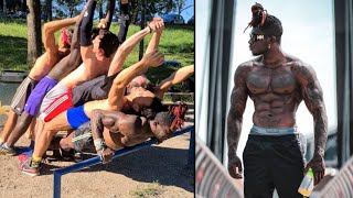 This Calisthenics Athlete is an Example Of Pure HARD WORK With Almost No Gift Aspects