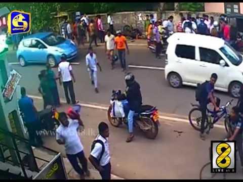 Amazing New Video of madampe City cctv fOOTAGE