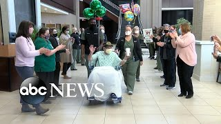 WWII veteran survives COVID-19, released from hospital on 104th birthday   WNT