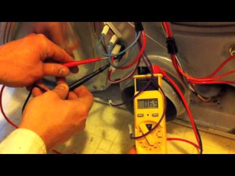 Whirlpool Gas Dryer Wiring Diagram Fujitsu Ten Mitsubishi Kenmore Maytag Not Heating Repair Youtube