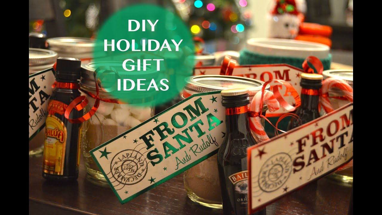 DIY Holiday Gift Ideas | Mason Jar Hot Chocolate - YouTube