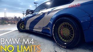Need for Speed Reboot (2015) PC - BMW M4 (2014) NFS No Limits Build / 60 FPS