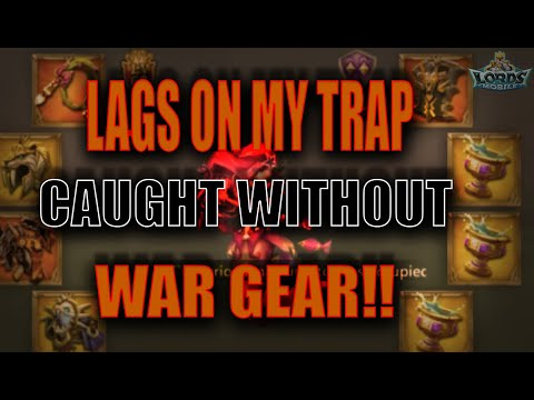 MY SOLO TRAP GET TONS OF SPEEDS??! - LORDS MOBILE KVK -