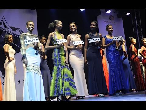 MISS RWANDA 2017 TOP 15 FINALISTS