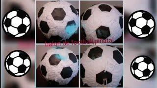#Piñata #football #futbol, como hacer una piñata de balon de footbal