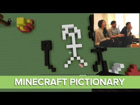 Minecraft Pictionary Xbox 360 with Outside Xbox - Episode 3