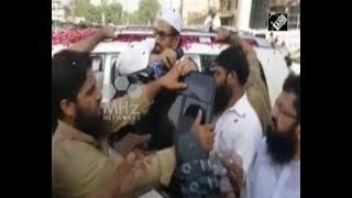 U N  designated terrorist Hafiz Saeed openly campaigns for upcoming Pakistan elections
