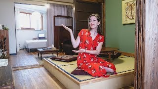 Traditional Japanese Apartment Tour in Tokyo, Japan | Shinjuku AirBnB Tour