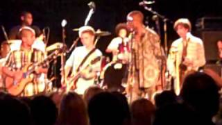 "Trombone Shorty and Blue Bear Kids ""Back in Black"" at Bimbos"