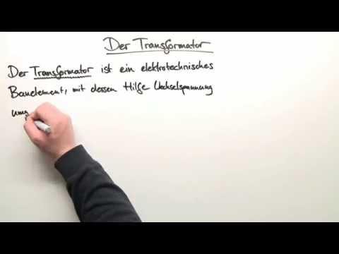 Physik - Der Transformator und die Wechselspannung | Physik ...