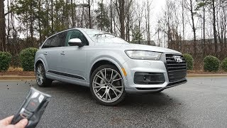 2019 Audi Q7 Prestige: Start Up, Walkaround, Test Drive and Review