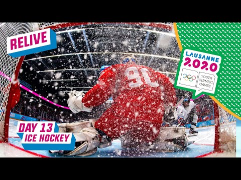 RELIVE - Ice Hockey - Men's Gold Medal Game - USA Vs RUSSIA - Day 13 | Lausanne 2020