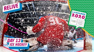 RELIVE - Ice Hockey - Men's Gold Medal Game - USA vs RUSSIA - Day 13 | Lausanne 2020 thumbnail